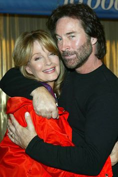Drake Hogestyn and Deidre Hall at Days Of Our Lives, Day Of My Life, Drake Hogestyn, Deidre Hall, Soap Opera Stars, Nbc Tv, Casting Pics, Chicago Fire, The Good Old Days