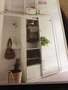 Ikea pax hallway storage