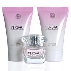 PINK TONIC FRAGRANCE PICS  | Buy Versace – Bright Crystal Mini EDT Fragrance Set 3 items