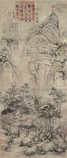 Shen Zhou: Peach Blossom Study