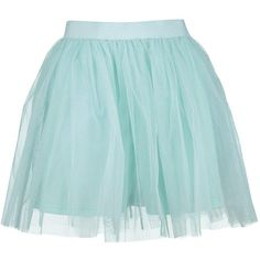 Boohoo Night Zaine Mini Tulle Full Skirt (39 CAD) ❤ liked on Polyvore featuring skirts, mini skirts, mini skirt, embellished mini skirt, midi skirt, blue skirt and evening skirts