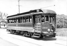 trolleys in New Bedford, Massachusetts