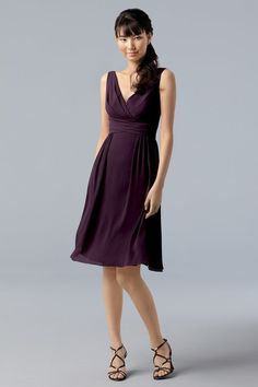 A sophisticated #bridesmaid look, but will the top work for bustier girls? (WTOO 784)
