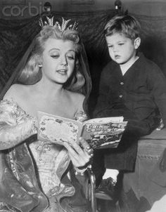 Angela Lansbury and her son Anthony Pullen Shaw -- he would become a director and direct more than 60 episodes of his mom's TV show Murder She Wrote. Old Hollywood Stars, Golden Age Of Hollywood, Classic Hollywood, Mom Tv Show, Mary Tyler Moore, Errol Flynn, Angela Lansbury, Old Movie Stars, All In The Family