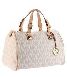 MICHAEL KORS Grayson Large Logo Satchel Womens Handbag
