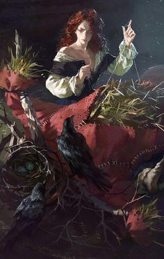 ArtStation - Witch 2, Yuliya Litvinova