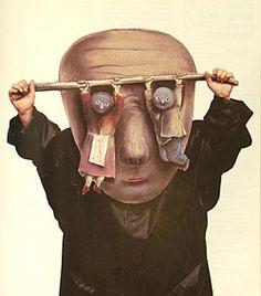 Stasys Eidrigevicius- masks