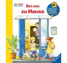 Bei uns zu Hause Ravensburger Puzzle, Toddler Books, Minion, Puzzles, Family Guy, Symbols, Children, Fictional Characters, German