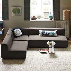 Baxter Sectional - modern - sectional sofas - West Elm