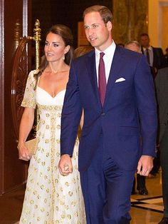 Prince William and Kate - I do enjoy watching this young couple. They handle themselves well and have fun.