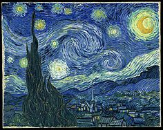 off Hand made oil painting reproduction of Starry Night, one of the most famous paintings by Vincent Van Gogh. Painted a year after his Starry Night Over the Rhone, Van Gogh&r. Gogh The Starry Night, Starry Nights, Starry Starry Night Painting, Starry Night Original, Stary Night Van Gogh, Van Gogh Pinturas, Arte Van Gogh, Most Famous Paintings, Famous Artwork