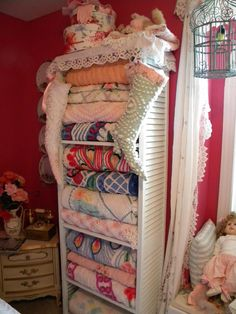 Great way to display my Quilts