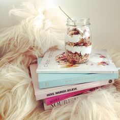 Meal planning with #granola at hand… x