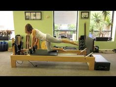 Advanced Pilates Reformer Jumpboard - YouTube
