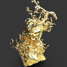Amplitude in the Y axis. Did a few more experiments with this increasing the amplitude of the curl noise mapped to the height of Aphrodite. Aphrodite, In The Heights, Lion Sculpture, Statue, Sculptures, Sculpture