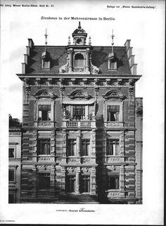 Berlin in alten Bildern - Page 5 - Berlin - Architectura Pro Homine German Architecture, Victorian Architecture, Germany Ww2, Alter, 18th Century, Big Ben, Notre Dame, Wwii, Old School