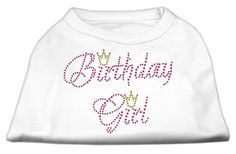 Birthday Girl Dog Rhinestone Shirt