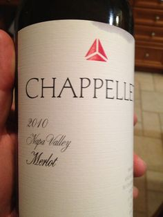 """Chappellet's 2010 Merlot  I find myself surprised again as I write about another decent Merlot from Napa Valley. While I have been in the """"Sideways"""" camp on Merlot for a long time, the recent experience with 2009 Sunstone Merlotin the space of 3 weeks. However, this Merlot exceeded my expectations and delivered a big, fruit forward mouthful of black cherries, with supple tanins and had a pleasant, medium finish.    $$ / ++"""