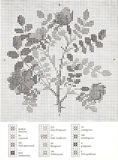 Gallery.ru / Фото #17 - Cross Stitch Pattern in Color - Mosca