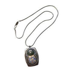 Whiting and Davis Scarab Necklace