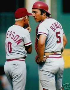 sparky and bench  big red machine