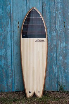 Fish surfboard by Siebert Woodcraft Surfboards - Brazil