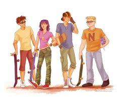 Eles cresceram! Personagens de desenhos animados desenhados como adultos | Rocket Power