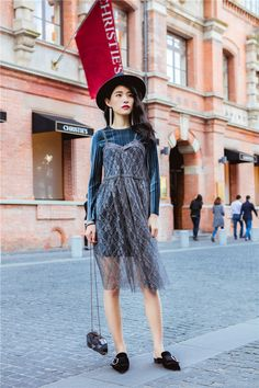 88626187420890 Aliexpress.com : Buy Two Piece Set Spring Women Long Sleeve With  Transparent Spaghetti Strap Lace Dress Ladies Robe Femme from Reliable robe  femme suppliers ...
