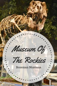 The next time you are in the Bozeman Montana area be sure to check out the Museum Of The Rockies