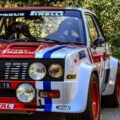 Autos Rally, Rally Car, Fiat 128, Fiat Cars, Fiat Abarth, Vintage Race Car, Top Cars, Retro Cars, Custom Cars
