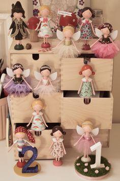 Peg doll, clothespin doll | Flossy Bobbins Makery