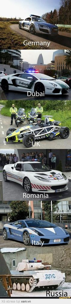 Humor Discover In Russia we dont pursue the criminals. We explode them. In Russia we dont pursue the criminals. We explode them. Police Memes, Funny Car Memes, Really Funny Memes, Car Humor, Stupid Funny Memes, Funny Relatable Memes, Haha Funny, Police Cars, Funny Cars