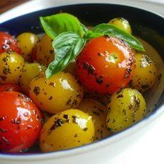 Byrdhouse Blistered Cherry Tomatoes - Allrecipes.com
