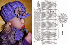 5 diseños de gorros super lindos al crochet