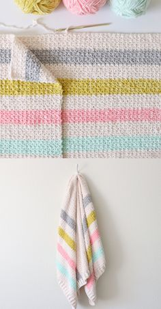 I like this stitch.try on next lapghan/baby afghan. Crochet Cross, Double Crochet, Easy Crochet, Free Crochet, Crochet Baby, Knit Crochet, Crochet Afghans, Crochet Stitches Patterns, Loom Knitting