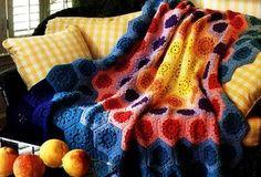 Galaxy Afghan: free pattern