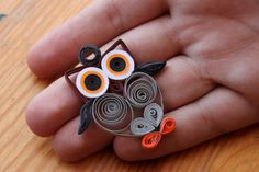 Quilling Owl ^^ by LesOmbresss on deviantART