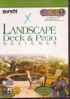 Punch Landscape, Deck U0026 Patio Designer 12 #PunchSoftware