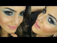 esfumado azul glamour