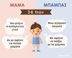 Η μαμά και ο μπαμπάς μέσα από τα μάτια ενός παιδιού από τη γέννηση του μέχρι τη δημιουργία της δικής του οικογένειας Kids And Parenting, Daddy, Words, Health, Quotes, Quotations, Health Care, Fathers, Quote