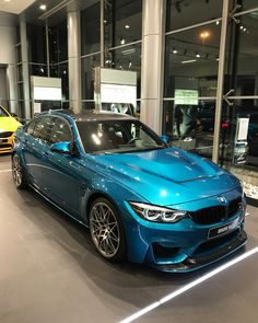 5,125 вподобань, 27 коментарів – Rami Nasri - BMW, MINI , RR (@bmw.uae) в Instagram: «M3 GTS Package individual color Atlantis Blue with Golden Brown Interior All our cars come with - 8…»
