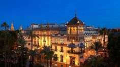 Seville's Hotel Alfonso XIII Takes You Back In Time