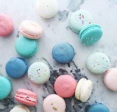 #confetti #macarons