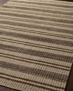 """Erin Stripe"" Rug at Horchow."