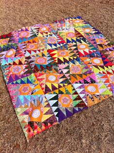 """""""Wild Women don't get the Blues"""" is just about ready to be quilted! 