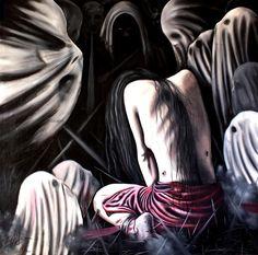 Kadın ve #Şiddet - 6 / Woman and #Violence - 6 by Erdal Aslan, 120cm x 120cm  #gallerymak #sanat #ig_sanat #yagliboya #resim #içmimar #içmimari #icmimar #dekorasyon #surreal #surrealism #evdekorasyon #decoration #interiordesign #expressionist #masterpiece #artwork #painting #fineart #artgallery #contemporaryart #paintingforsale #contemporaryartcurator #contemporary #modernarchitecture #oiloncanvas #paintings