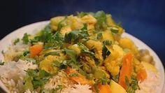 Cambodian veggie curry