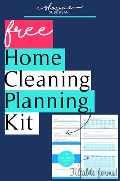 Cleaning checklist not working? Create a custom home cleaning plan tailored to your priorities and the time you have. Grab your copy of the Home Cleaning Planning Kit, with 4 fillable PDF worksheets, including a home cleaning schedule and chore chart.
