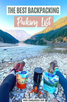 The Best Backpacking Packing List. Looking to get into backpacking, but don't know where to start in terms of what gear to buy and what to pack for your first backpacking trip? I'm here to help! Check out my list for what I put in my pack and start thinking about your next gear purchase! backpacking gear | backpacking packing list | camping gear Packing Tips For Vacation, Ultimate Packing List, Road Trip Packing, Travel Packing, Packing Lists, Ultimate Travel, Travel Backpack, Best Backpacking Packs, Backpacking For Beginners
