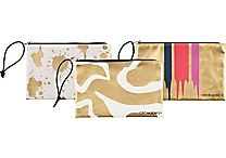 Cynthia Rowley in.Holds Everythingin. Pouch, Assorted Gold